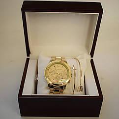 Женские часы Michael Kors с браслетом (replica)