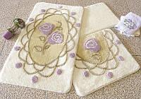 Набор ковриков для ванной комнаты 3 в 1 турция alessia DANTEL SOMON