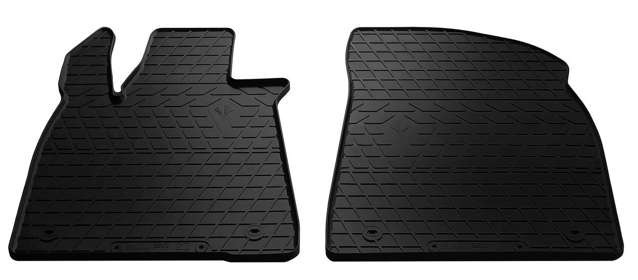 Коврики в салон для Лексус RX 15- (design 2016) (передние - 2 шт) 1028015F