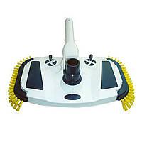 Щетка для чистки дна с боковой щетиной и регулятором давления Bridge Cobalt Blue