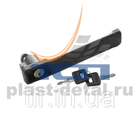 Ручка двери комплект (1 ручка+2ключа) MAN F2000/F90/M90 TD05-57-172 TangDe