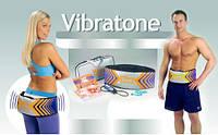 Пояс для похудения Vibra Tone Вибротон, массажный пояс для похудения,