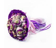 Букет из конфет 19 Фиолетовый рассвет