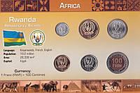 Набор Руанда 6 монет 2003