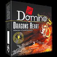 "Оральные презервативы со вкусом апельсина, тутти-фрутти и кокоса ""Сердце дракона"" Domino Premium, 3 шт."