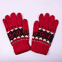 Женские перчатки двойные Tanya 02-03-4