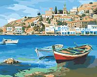 Холст для рисования Средиземноморское лето (AS0024) 40 х 50 см ArtStory