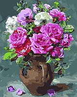 Картина по номерам Восхитительные розы (AS0038) 40 х 50 см ArtStory