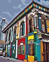 Раскраска для взрослых Яркий город (AS0040) 40 х 50 см ArtStory