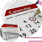 Календари квартальные настенные 2020