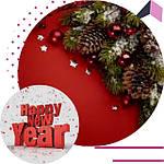 Новогодние украшения и декор, новый год