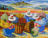 Раскраска по цифрам Сбор урожая (AS0094) 40 х 50 см ArtStory