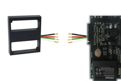Подключение KR1000 к контроллеру доступа