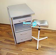 Комплект, маникюрный складной стол с БК лампой+тринога