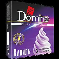 """Оральные презервативы со вкусом ванили Domino Classic """"Ваниль"""", 3 шт."""