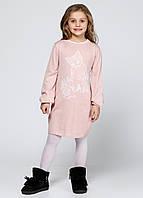Платье  котик розовое