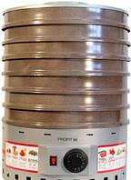 Электро сушка для овощей и фруктов ProfitM ЕСП-02 825вт 20л бежевая и чёрная
