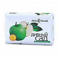 Дивный сад мыло туалетное Зеленое яблоко, 90 г, Невская Косметика