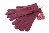 Женские перчатки Terranova_002 bordeaux