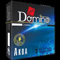 "Презервативы Domino Classic ""Аква"", 3 шт."