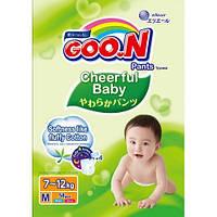 GooN Трусики-подгузники Cheerful Baby M (7-12 кг) 58 шт унисекс 4902011851441