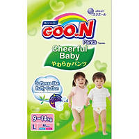 GooN Трусики-подгузники Cheerful Baby L (8-14 кг) 48 шт унисекс 4902011851458