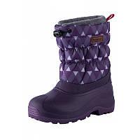 Зимние сапоги - сноубутсы  для девочки Reima 569329,8-5931. Размеры 22/23 - 32/33., фото 1
