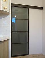 Межкомнатные подвесные  двери купе, фото 1