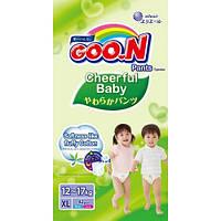 GooN Трусики-подгузники Cheerful Baby XL (11-18 кг) 42 шт унисекс 4902011851465