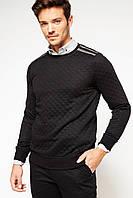 Черный мужской свитер De Facto / Де Факто