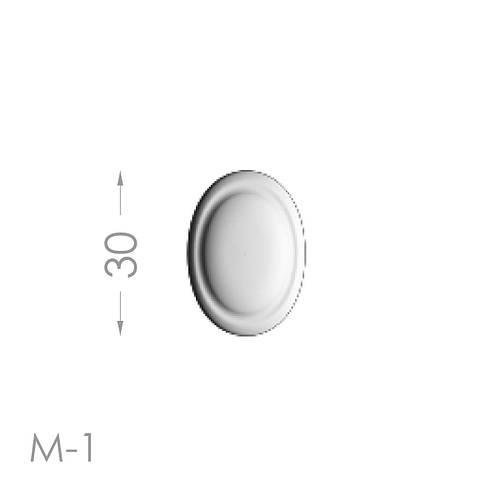 Лепнина из гипса мелочь м-1