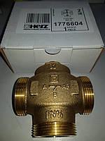 """Трехходовой термосмесительный клапан HERZ Teplomix DN32 1*1/2"""" 55°C с отключаемым байпасом"""