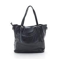 Женская кожаная сумка 6004-2 black