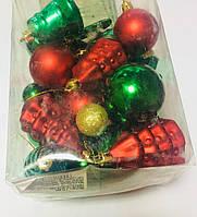 Набор шариков (36шт), 5 см, 6 см, 13см