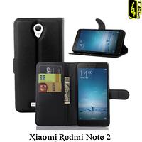 Чехол для Xiaomi Redmi Note 2, с бампером, Premium, черный