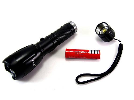 Светодиодный фонарь 8008 Т6, фото 2