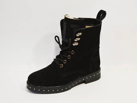 Замшевые женские ботинки Selesta, фото 2