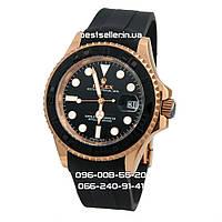 Часы Rolex Yacht-Master 41mm (Механика) Rose Gold/Black. Replica: AAA., фото 1