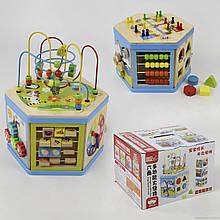 Іграшка-сортер Логічний кубик