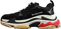 Мужские кроссовки Balenciaga 17FW Tripe-S Dad Shoe Black