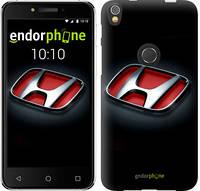 "Чехол на iPhone X Hond. Logo v2 ""3114c-1050-9076"""