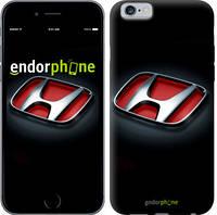 "Чехол на iPhone 6s Hond. Logo v2 ""3114c-90-9076"""
