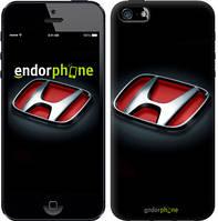 "Чехол на iPhone 5s Hond. Logo v2 ""3114c-21-9076"""
