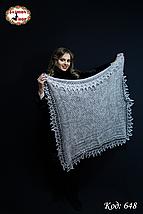 Пуховий платок-паутинка Лаурета 115 см, фото 3