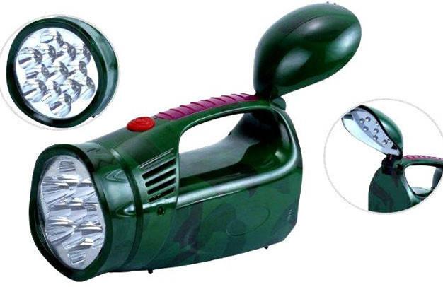 Фонарь светодиодный аккумуляторный YJ-2809, фото 2