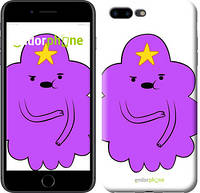 "Чехол на iPhone 7 Plus Принцесса Пупырка. Adventure Time. Lumpy Space Princess v2 ""1221c-337-9076"""
