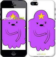 "Чехол на iPhone 5s Принцесса Пупырка. Adventure Time. Lumpy Space Princess v2 ""1221c-21-9076"""