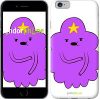 "Чехол на iPhone 6 Принцесса Пупырка. Adventure Time. Lumpy Space Princess v2 ""1221c-45-9076"""