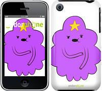 "Чехол на iPhone 3Gs Принцесса Пупырка. Adventure Time. Lumpy Space Princess v2 ""1221c-34-9076"""