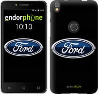 """Чехол на iPhone X Ford. Logo v3 """"3112c-1050-9076"""""""